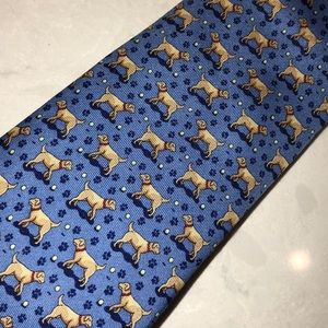 Vineyard vines Chocolate Lab tie